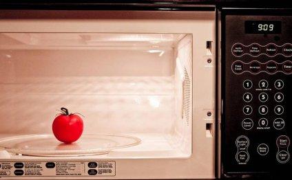 Микроволновая печь: польза или