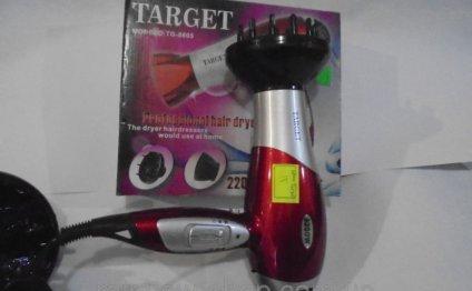 Мощный фен для волос Target