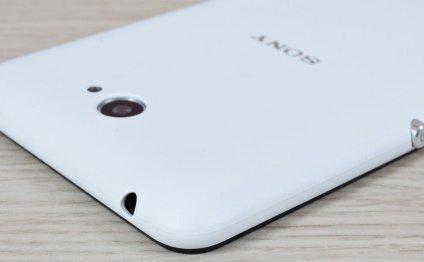 Sony Xperia E4 смотрится