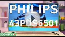 Philips 43PUS6501 современный 4K телевизор c Android TV и